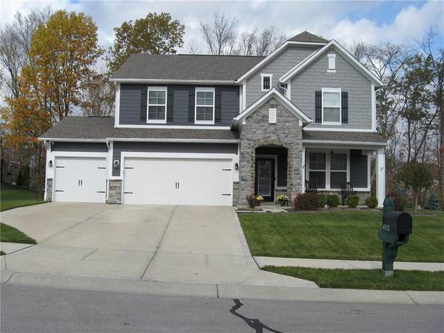 4312 Bexley Court, Avon, IN 46123 (MLS #21749824) :: The Indy Property Source
