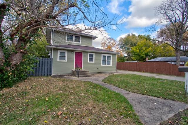 1520 E 72nd Street, Indianapolis, IN 46240 (MLS #21749892) :: The ORR Home Selling Team