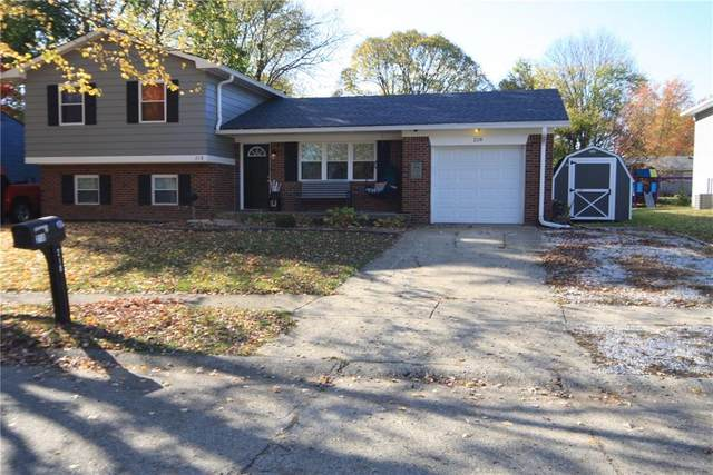 218 Lansdowne Road, Indianapolis, IN 46234 (MLS #21749907) :: The Indy Property Source