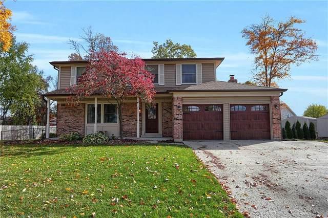1011 Farmview Lane, Carmel, IN 46032 (MLS #21749909) :: Heard Real Estate Team | eXp Realty, LLC
