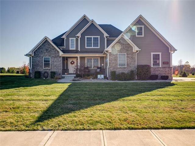 4655 Hanna Crossing Drive, Plainfield, IN 46118 (MLS #21749961) :: The ORR Home Selling Team
