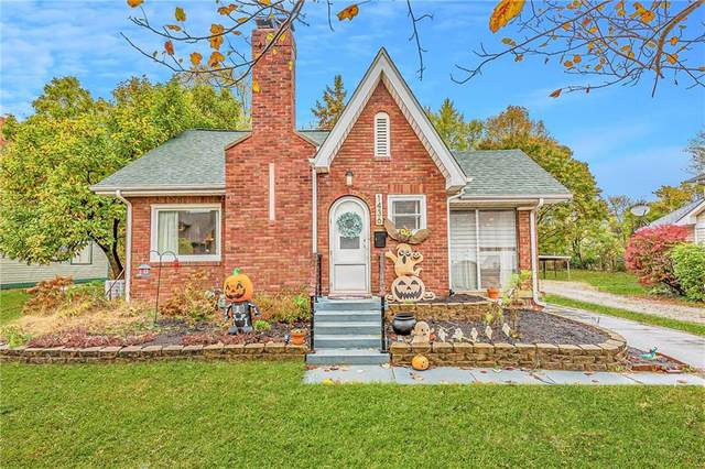 1436 Maynard Drive, Indianapolis, IN 46227 (MLS #21750044) :: The ORR Home Selling Team