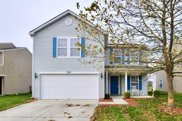 8210 Gathering Circle, Indianapolis, IN 46259 (MLS #21750081) :: The ORR Home Selling Team