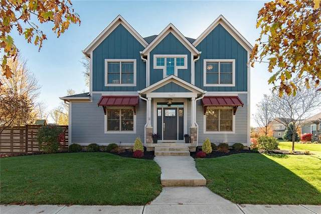 7647 Bishops Green, Zionsville, IN 46077 (MLS #21750341) :: Realty ONE Group Dream
