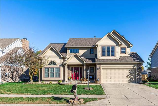 7821 Rock Rose Court, Indianapolis, IN 46237 (MLS #21750345) :: The ORR Home Selling Team