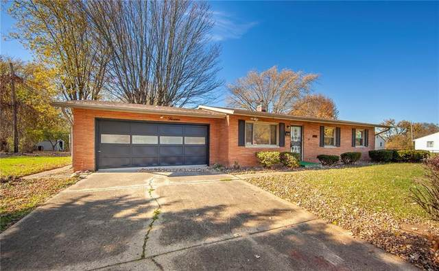 1813 Brentwood Drive, Anderson, IN 46011 (MLS #21750425) :: The Evelo Team