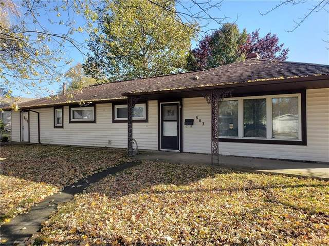 803 Park Drive, Lebanon, IN 46052 (MLS #21750512) :: The ORR Home Selling Team