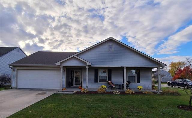 10179 Buell Drive, Avon, IN 46123 (MLS #21750513) :: The Evelo Team