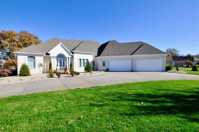 1761 Eagle Trace Drive, Greenwood, IN 46143 (MLS #21750576) :: Richwine Elite Group