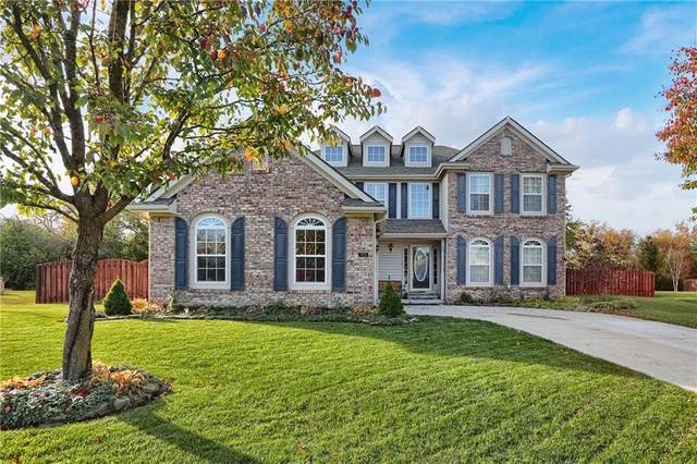 10764 Chestnut Heath Court, Noblesville, IN 46060 (MLS #21750815) :: The ORR Home Selling Team