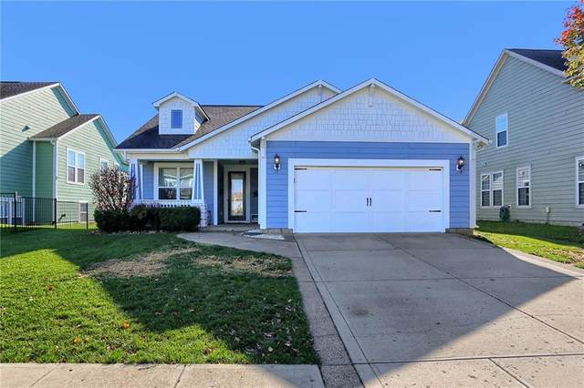1303 Townsend Drive, Greenwood, IN 46143 (MLS #21750828) :: The ORR Home Selling Team