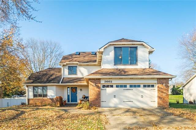 3662 Premier Drive, Columbus, IN 47203 (MLS #21750916) :: Mike Price Realty Team - RE/MAX Centerstone