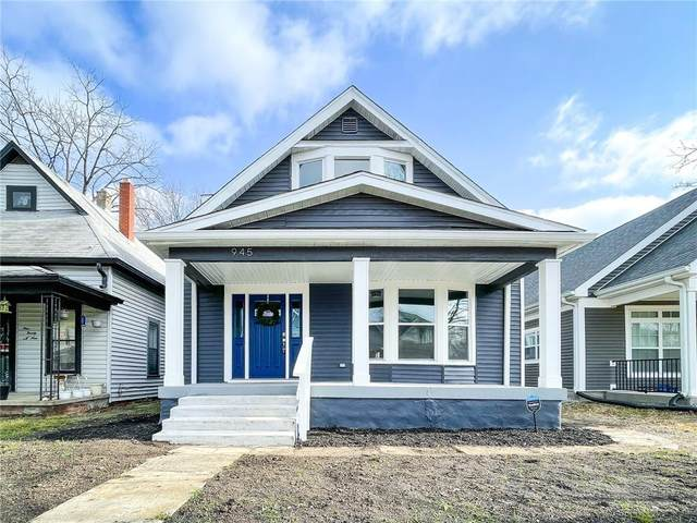945 N Oakland Avenue, Indianapolis, IN 46201 (MLS #21750982) :: Anthony Robinson & AMR Real Estate Group LLC