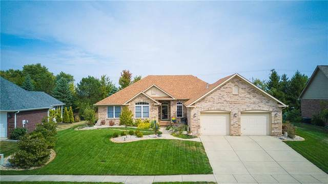 1881 Saratoga Drive, Greenwood, IN 46143 (MLS #21751002) :: The ORR Home Selling Team