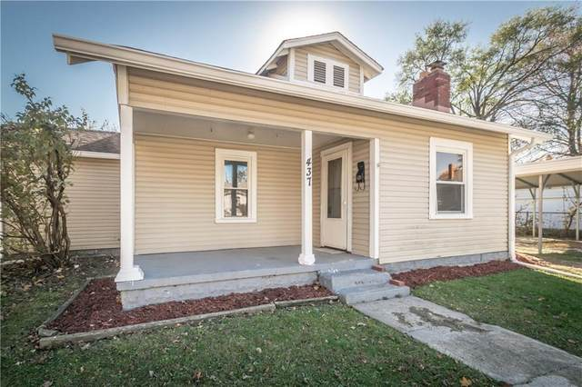 437 Alton Street, Beech Grove, IN 46107 (MLS #21751033) :: Mike Price Realty Team - RE/MAX Centerstone