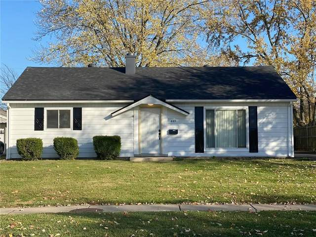449 Park Drive, Greenwood, IN 46143 (MLS #21751206) :: The ORR Home Selling Team
