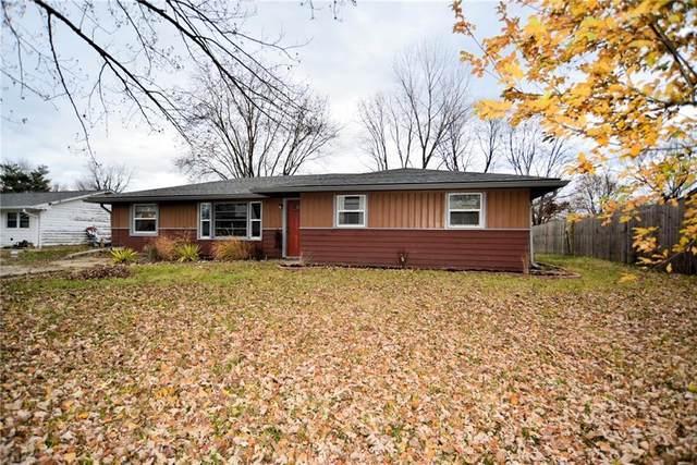 4407 Allen Drive, Brownsburg, IN 46112 (MLS #21751300) :: The ORR Home Selling Team