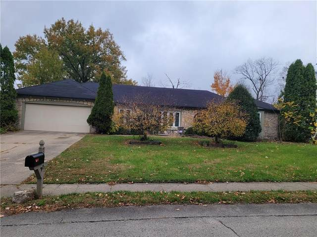 7310 Highburry Drive, Indianapolis, IN 46256 (MLS #21751345) :: The Evelo Team