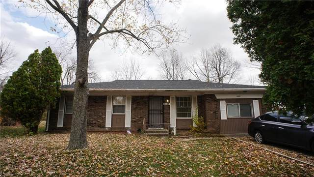 4417 Downes Drive, Indianapolis, IN 46235 (MLS #21751409) :: AR/haus Group Realty