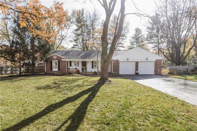 1319 Shawnee Road, Indianapolis, IN 46260 (MLS #21751447) :: The ORR Home Selling Team
