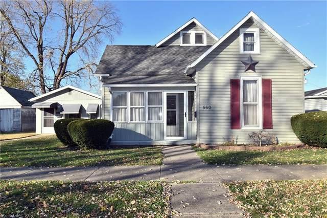 560 E Columbus Street, Martinsville, IN 46151 (MLS #21751460) :: Dean Wagner Realtors