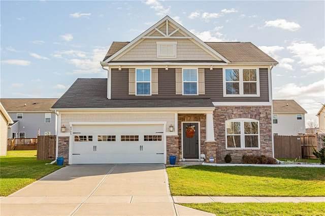 6745 School Branch Drive, Brownsburg, IN 46112 (MLS #21751489) :: Ferris Property Group