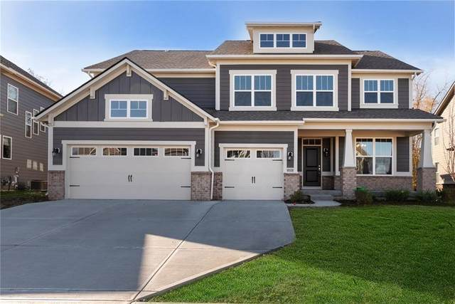 6021 Godello Circle, Zionsville, IN 46077 (MLS #21751564) :: AR/haus Group Realty
