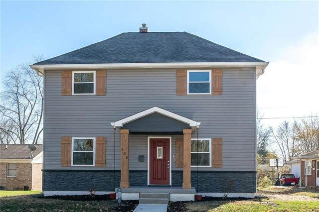 338 E Michigan St, Fortville, IN 46040 (MLS #21751760) :: AR/haus Group Realty
