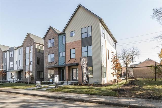 1811 New Jersey Street, Indianapolis, IN 46202 (MLS #21751785) :: The Evelo Team