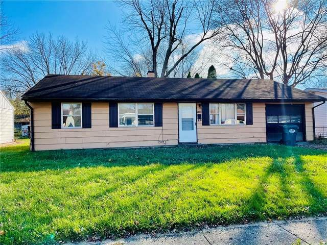 2805 W 18th Street, Anderson, IN 46011 (MLS #21751820) :: Realty ONE Group Dream