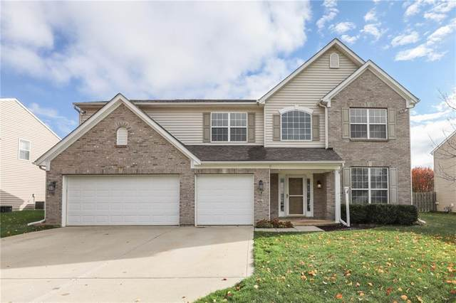 2409 S Woodgrove Way, New Palestine, IN 46163 (MLS #21751956) :: The ORR Home Selling Team