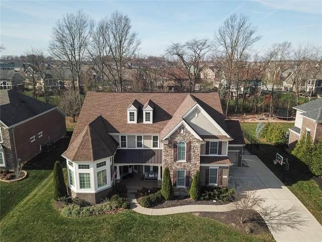 12274 Poplar Bend Boulevard, Fishers, IN 46037 (MLS #21751997) :: The ORR Home Selling Team