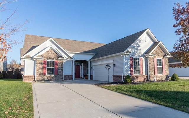 12363 Wolverton Way, Fishers, IN 46037 (MLS #21752102) :: The ORR Home Selling Team