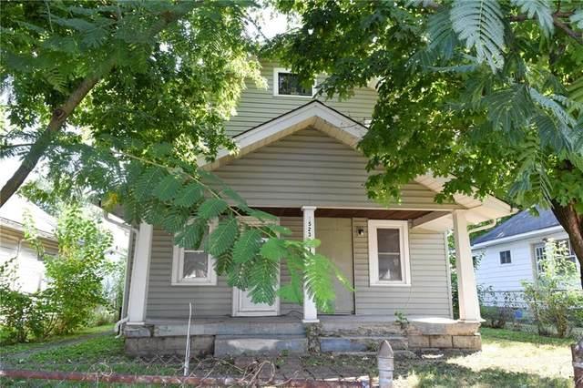 1521 Hiatt Street, Indianapolis, IN 46221 (MLS #21752110) :: Ferris Property Group