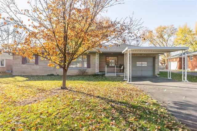 110 N Mitchner Avenue, Indianapolis, IN 46219 (MLS #21752140) :: The ORR Home Selling Team