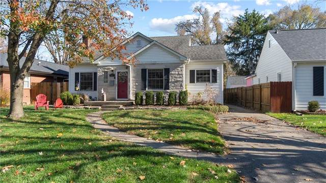 5837 Kingsley Drive, Indianapolis, IN 46220 (MLS #21752185) :: AR/haus Group Realty
