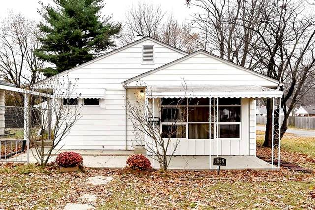 1868 N Hawthorne Lane, Indianapolis, IN 46218 (MLS #21752187) :: The ORR Home Selling Team