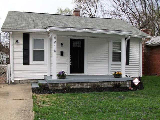 4914 Evanston Avenue, Indianapolis, IN 46205 (MLS #21752232) :: The Evelo Team