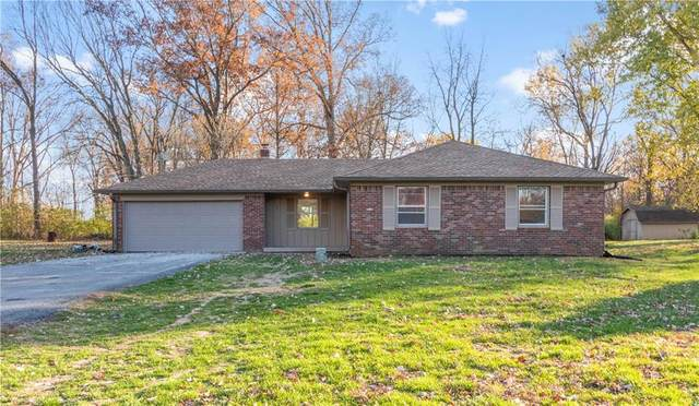 3211 W Sharon Drive, Greenfield, IN 46140 (MLS #21752335) :: The Evelo Team