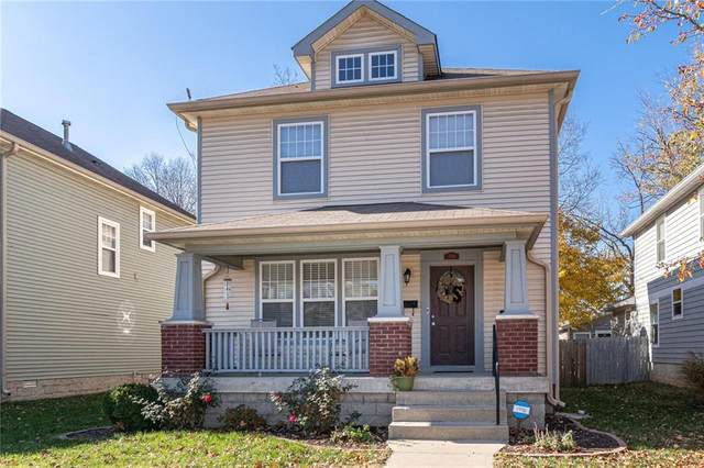 2944 N Delaware Street, Indianapolis, IN 46205 (MLS #21752427) :: The ORR Home Selling Team