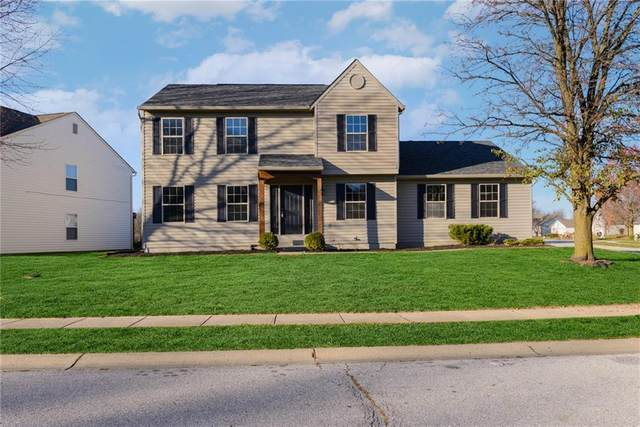 2240 Canvasback Drive, Indianapolis, IN 46234 (MLS #21752442) :: The ORR Home Selling Team