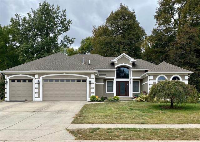 7612 Stones River Drive, Indianapolis, IN 46259 (MLS #21752471) :: Richwine Elite Group