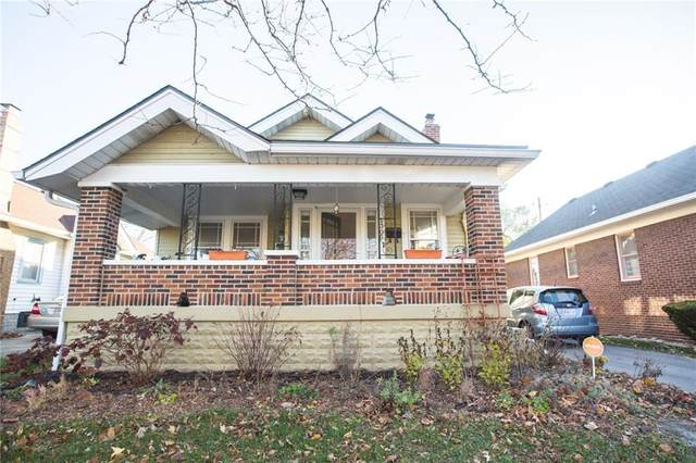 1305 N Linwood Avenue, Indianapolis, IN 46201 (MLS #21752499) :: The ORR Home Selling Team