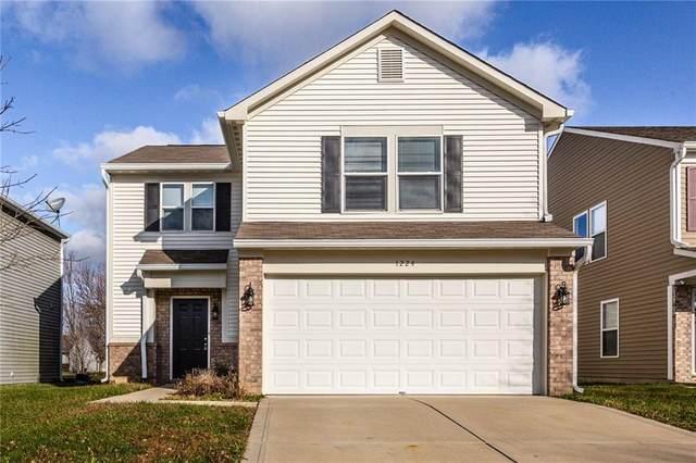 1224 N Aberdeen Drive, Franklin, IN 46131 (MLS #21752543) :: The ORR Home Selling Team