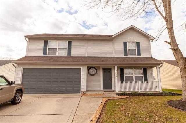 8102 N Harvest Lane, Columbus, IN 47201 (MLS #21752600) :: The ORR Home Selling Team
