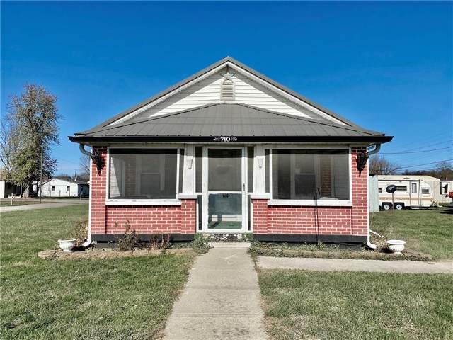 710 E Gray Street, Martinsville, IN 46151 (MLS #21752633) :: Dean Wagner Realtors