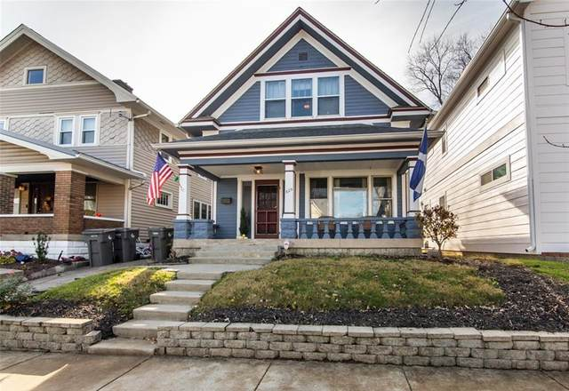 625 Sanders Street, Indianapolis, IN 46203 (MLS #21752665) :: Anthony Robinson & AMR Real Estate Group LLC