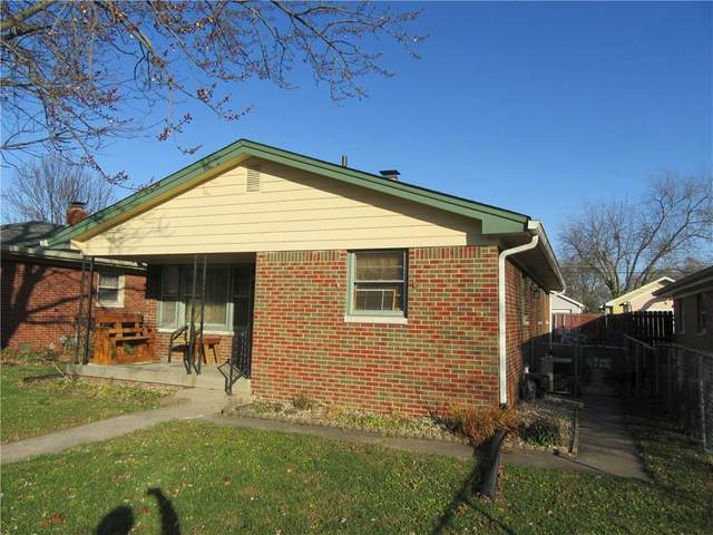 221 N 8th Avenue, Beech Grove, IN 46107 (MLS #21752714) :: The ORR Home Selling Team