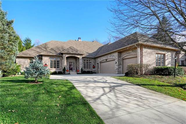 4663 Woods Edge Drive, Zionsville, IN 46077 (MLS #21752784) :: The ORR Home Selling Team