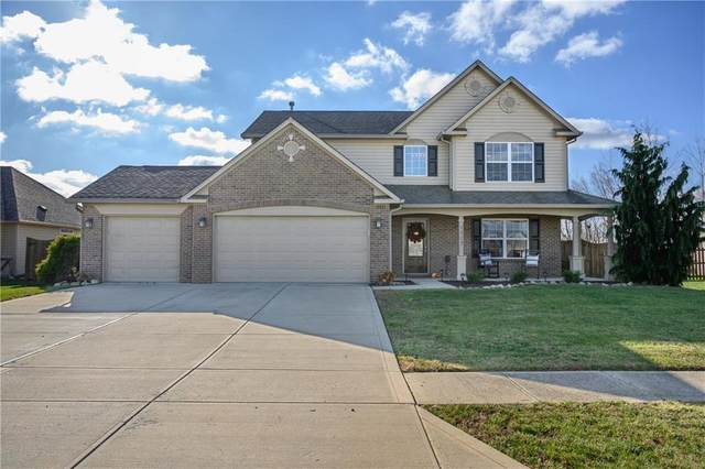 1117 Foxtail Drive, Franklin, IN 46131 (MLS #21752818) :: The ORR Home Selling Team
